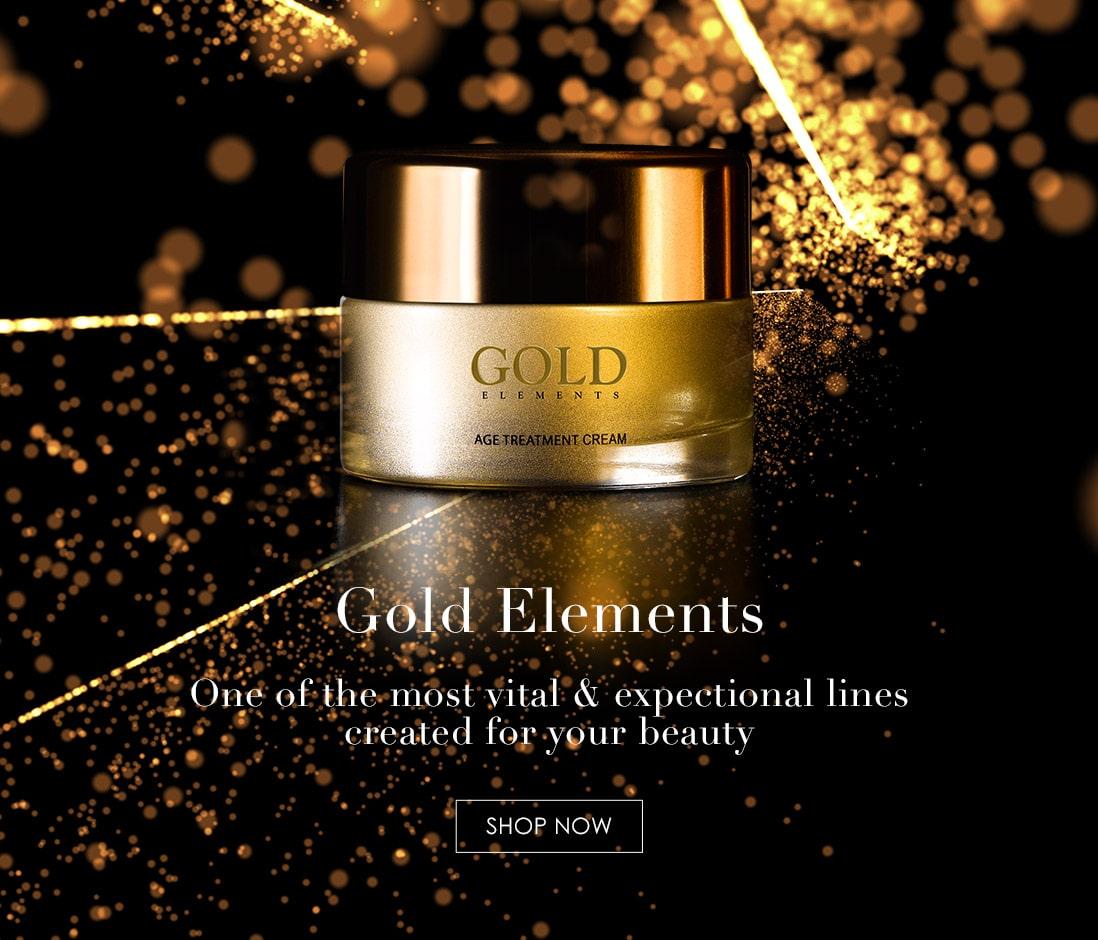 24k Facial serum with gold