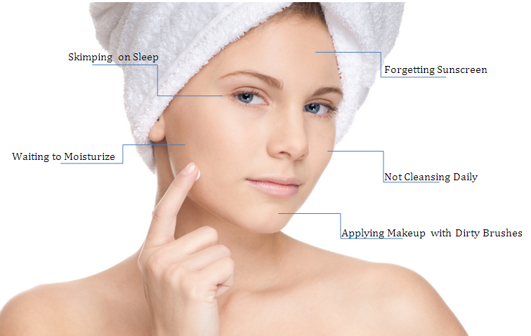 Daily Skin care Habits for Better Looking Skin!